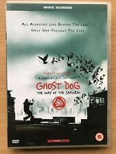 Forest Whitaker GHOST DOG: THE WAY OF THE SAMURAI ~ Jarmusch Cult Classic UK DVD