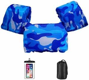 Kids Puddle Jumper Swim Life Jacket Vest with Shoulder Harness Arm Wings Unisex
