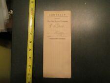 Pella Stacker Company Contract 1911 farming agriculture Letterhead 529