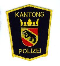Vintage Swiss Bern Kantons Polizei Police Uniform/Shoulder Patch Switzerland