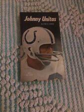 VINTAGE NFL 1971 JOHNNY UNITAS BOOK BY JOEL H. COHEN 1971