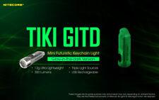 NITECORE TIKI GITD 300lumens  (GLOW IN THE DARK) Version Keychain Flashlight