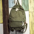 Retro Vintage Canvas Camping Hiking Travel Backpack Rucksack Satchel School Bag