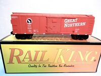 MTH Rail King 30-7006a Great Northern Box Car-O/O27 gauge-New with original box!