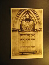 Lightfoot's Clock, Wells Cathedral, 1910, real photo, Valentine & Sons, unused