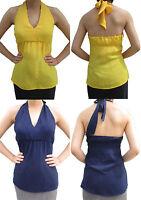 NWT Banana Republic New $69.50 Women Halter Top Size 0, 2, 4, 6, 8, 10, 12, 14
