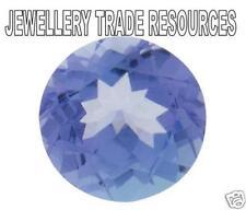 Natural Violet Tanzanite Round Cut 2mm Gem Gemstone