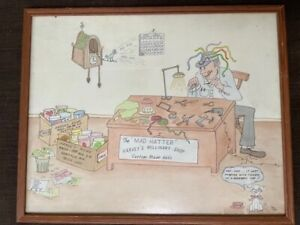 """""""MAD HATTER"""" BY MOE BEERMAN MADE FOR HARVEY ROWE - FROM WEST SEATTLE LIONS CLUB"""