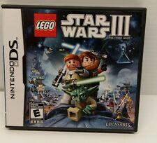 Nintendo DS Game - LEGO STAR WARS III - USED