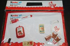 Ferrero Werbematerial - Werbetafel mit Magneten und Stift CHINA kinder chocolate