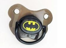 Baby Batman Pacifier Dummy Soother Cute Funny Silicone Newborn 6-18 Months Black