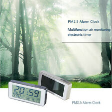Indoor PM2.5 Detector Digital Screen Air Quality Humidity & Temperature Testing