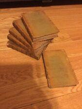 1810 Set 6 Vls Fairy Queens Leather POETICAL WORKS EDMUND SPENSER