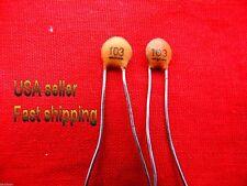 25 pcs -  .01uf  (0.01uf)  50v disc ceramic capacitors (rd)