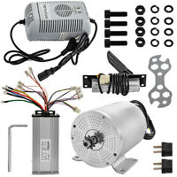 Brushless Electric Motor Controller Charger Pedal DC 48V 1800W eBike 4500RPM