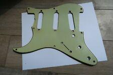 Left 1958 Fender Stratocaster Nitrate Celluloid Mint Green Pickguard 58 Vintage