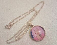 Jem and the Holograms Pendant Necklace Gift  Vintage 80s Cartoons Retro Doll Toy