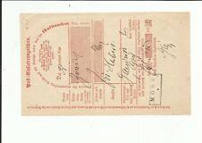 Preußen / Mörs Aptierter Ra2 on Pracht-Postschein 1870