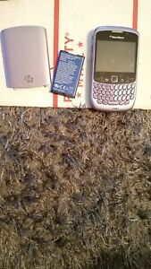 BlackBerry Curve 8530 - Purple (Verizon) Smartphone