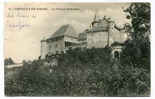CPA - Carte Postale - France - Uriage les Bains - Le Vieux Château - 1903