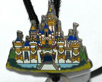 Disney 50 Years Sleeping Beauty Pink Blue & White Enameled Castle Bolo Lanyard