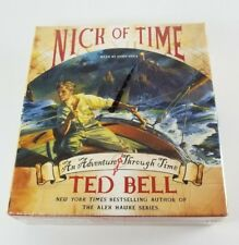 "Nick of Time Audiobook 10 CD Set Unabridged ""An Adventure Through Time"" Ted Bell"