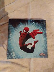 Spiderman Picture Canvas prints Painting Home decor Room Wall art 10 x 10