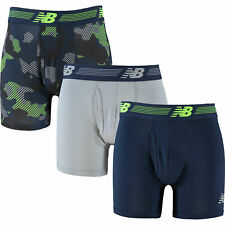 """Mens New Balance Boxer Shorts Pack of 3 RRP $40  Size Small : Waist 28"""" to 30"""""""
