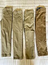 Boys Cat & Jack Lot Khaki Pants School Uniform size 8