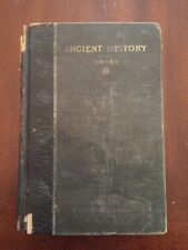 1904 Ancient History Revised Edition by Philip Van Ness Myers Illustrated Color