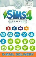 The Sims 4 + 18 DLC Collection/ Digital Download Account/ PC/MAC / MULTILANGUAGE
