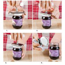 Can Opener Jar Bottle Adjustable  Manual Stainless Steel Easy Kitchen Remov Tool