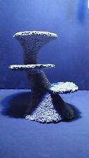 Marine live reef resin rock coral platform frag rack centre piece plate shelf
