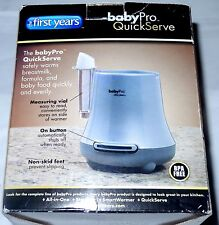 The First Years Baby Pro Gray Colored Electric Baby Bottle Warmer Model Y1095