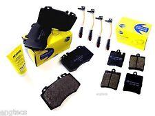 8x PINZA FRENO AMG-pacchetto ANTERIORE POSTERIORE MERCEDES w203 s203 CLK c209 a209 Cabrio