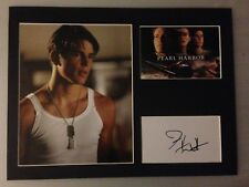 Josh Hartnett Autograph PEARL HARBOR Signed 12x16 Display AFTAL [A0301]