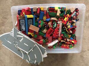 Holzeisenbahn 12 Kg Kiste