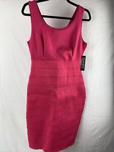 New York & Company Stretch Pink Dress Women's Size M New Nwt
