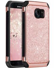 BENTOBEN Case For Samsung Galaxy S7 Glitter Soft&TPU Hard PC Protective Cover
