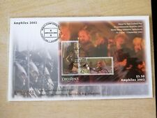 New Zealand -Lord of the Ring - Exhibition cover (2 FDC) FIRST DAY COVER-C