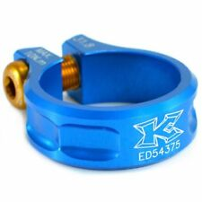 KCNC SC11 Seat Post Clamp 7075 Alloy , 31.8mm , Blue