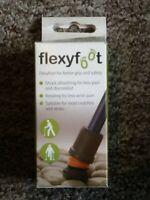 Flexyfoot - Grey - Shock Absorbing Ferrule - SIZE 19 - SLIGHT DAMAGE ON BOX