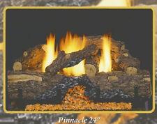 "Sierra Pinnacle Vent Free Gas Log 18"" Remote Ready  Natural Gas"