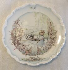 Royal Doulton Plate, The Wind In The Willows, 1984 Collector Plate
