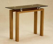 Glass Modern Console Tables with Flat Pack