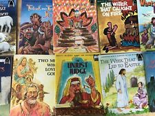 Lot of 10 Arch Religious Books for Children Story Book Home School Christian