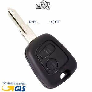Guscio Cover Chiave Telecomando 2 Tasti PER Peugeot 107 207 307 206 306 406 407