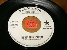 ETHEL ENNIS - THE BOY FROM IPANEMA - WHEN WILL THE   - LISTEN - GIRL POPCORN