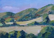 Topanga State Park #2 Oil Plein Air Impressionism Landscape John Kilduff