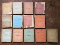 Lote 13 Vol Pelikan Municipal de La Old París Ejercicio Procès-verbaux 1898-1912